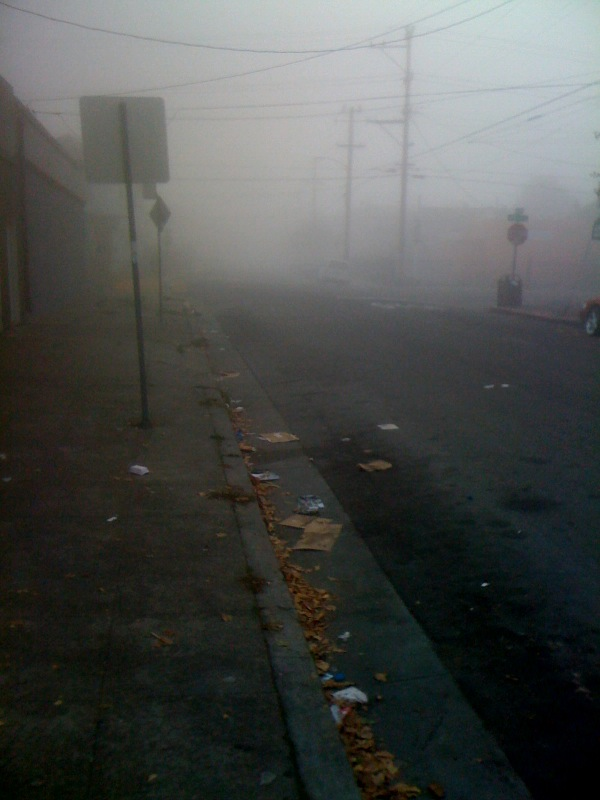 Oakland fog